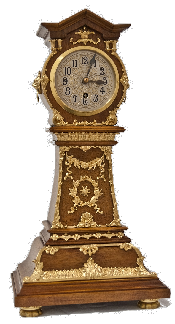 Lenzkirch Miniatur Standuhr Pendule Hinterzappler Empire 13